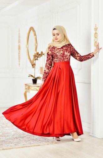 711396b62f1e8 Dantelli Abiye Elbise 0495-01 Fuşya | Dream List | Formal dresses ...