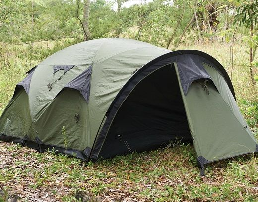 The Cave - 4 Person Tent – Snugpak Ebola coming to your town ?..Hide in style...wife will love the neutral color !
