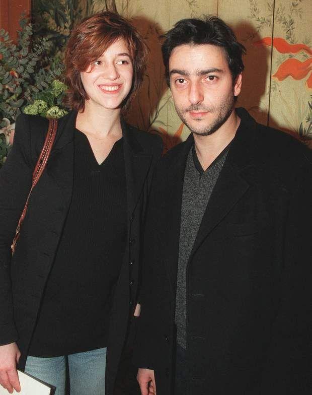 Charlotte Gainsbourg et Yvan Attal...