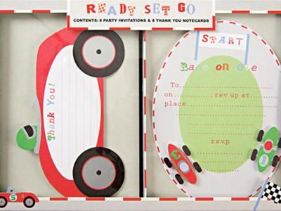 Race Car Theme Party for Kids