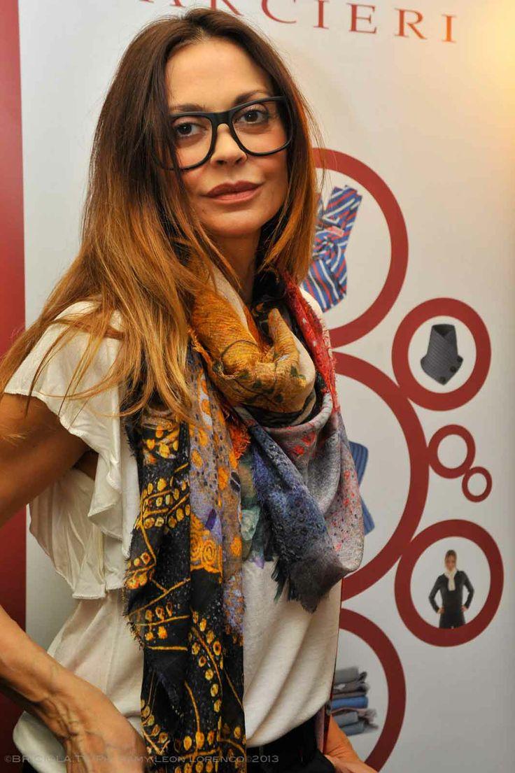 """Elda Alvigini  Progetto """"Cinema Gift Room"""" in occasione dell' VIII Festival Internazionale del Film di Roma."""