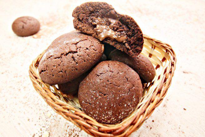Retete Culinare - Biscuiti cu nutella