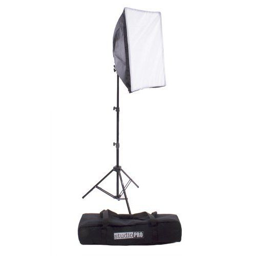 """Neewer 1000W Photography softbox lighting kit,includes:(1)5 Sockets Light Holder+(1)7ft/84""""/210cm Light Stand+(1)20x28""""/50x70cm Softbox+(1)Carrying Bag"""