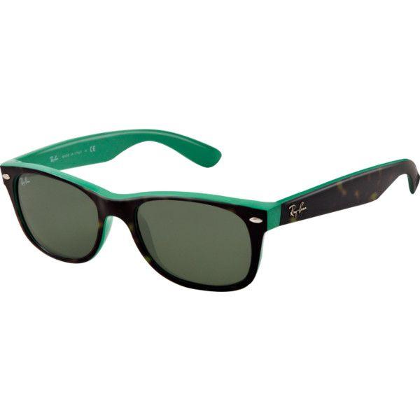 Ray-Ban Sunglasses (€115) ❤ liked on Polyvore featuring accessories, eyewear, sunglasses, ray ban wayfarer, ray ban sunglasses, wayfare, ray-ban y wayfarer style glasses