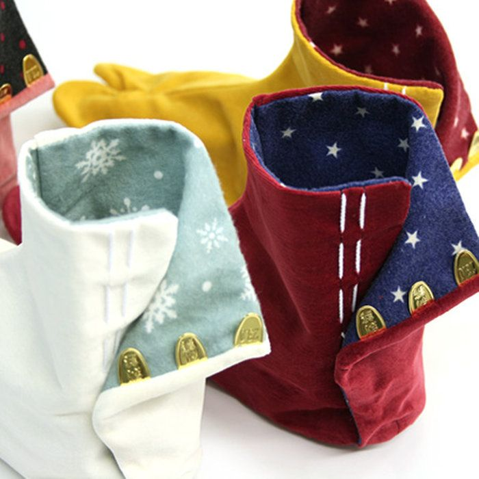 【足袋オプション】あったかくてカワイイ♪お好きな足袋に柄ネル裏地をお付けします(※単品では注文できません)