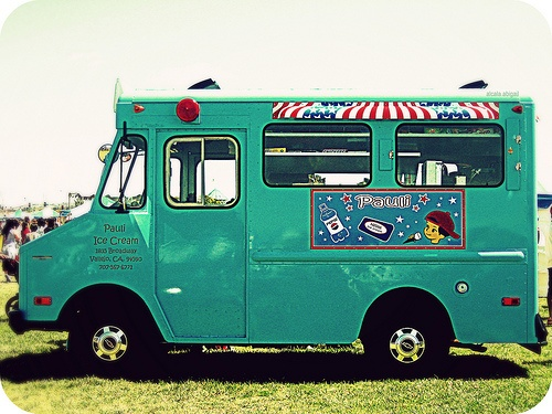 5: chasing down the ice cream truck on hot summer days