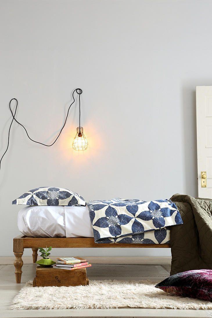 Bohemian Platform Bed  Interior thats all  Boho bed frame Platform bed Platform bed designs
