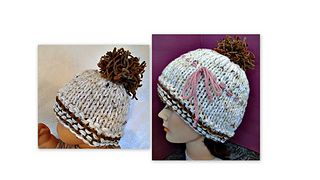 Hat Knitting Pattern, Unisex Beanie,  for baby, child, toddler, teen, adult, men, women, boys, girls.  Easy beginner level pattern, one hour project!  Lots of knitting video's included, great gift for all!!!