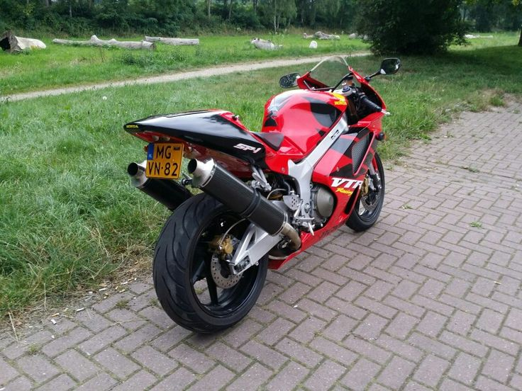 My Honda VTR 1000 SP-1 (2 august 2014)