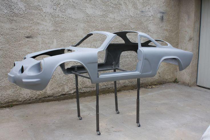 Carrosserie de la voiturette après usinage http://www.formes-et-volumes.fr/actualite.html