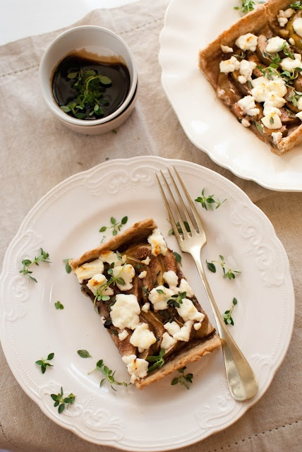 Fig and Goat Cheese Tart | Good Eats | Pinterest | Cheese Tarts, Goats ...