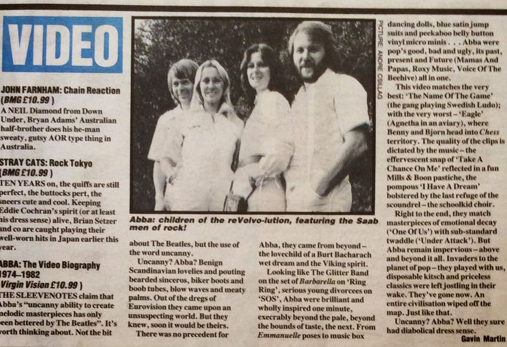 ABBA Fans Blog: Archive - Abba Video Biography Review - visit my blog to read the article #Abba