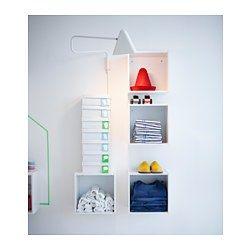 FÖRHÖJA Wandschrank - weiß 20x30x30 cm - IKEA | kleiner Wandkasten, am Bett als Nachttisch, für Kuschelklamotten, am Schreibtisch