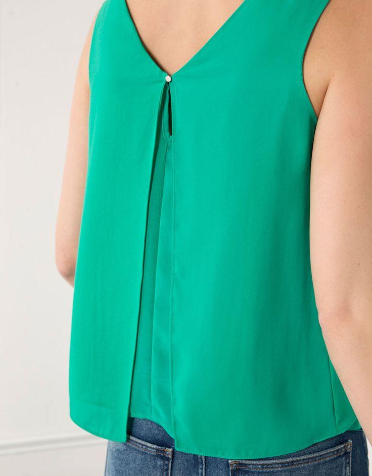 Blusa Bershka básica - Camisas & blusas - Bershka Mexico