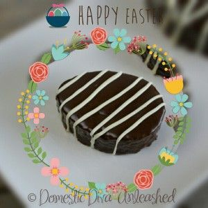 Domestic Diva - Easter Egg Cakes.