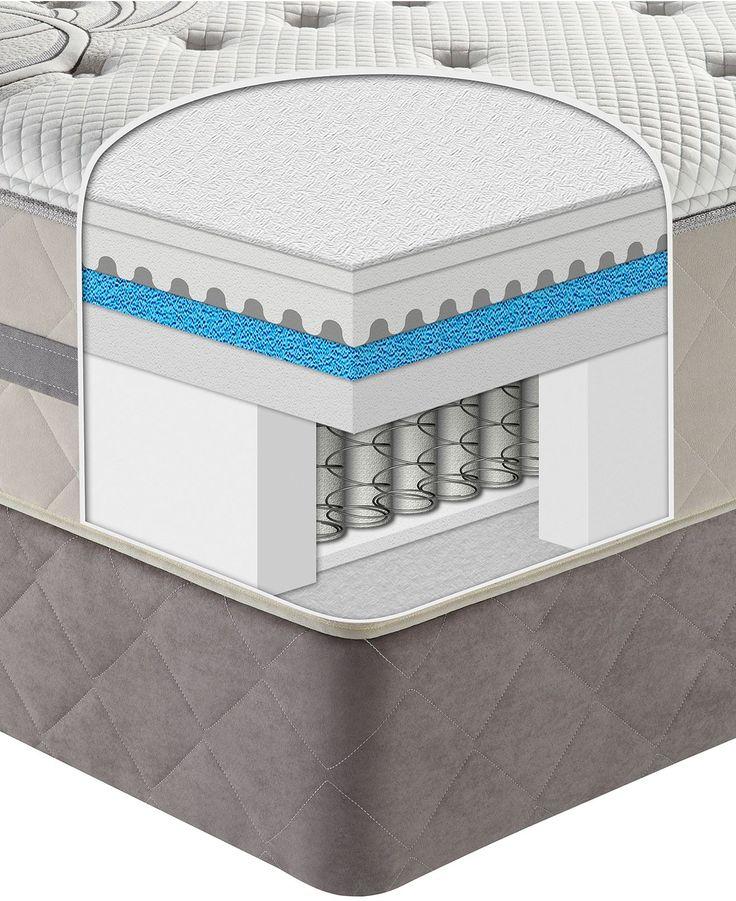 Sealy Posturepedic Hybrid Queen Split Mattress Set Fulfillment Top Cushion Firm Mattresses Macy S Bedroom Pinterest