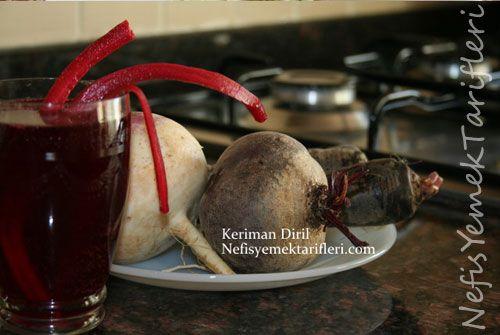Şalgam Suyu (ev yapımı) - Nefis Yemek Tarifleri http://www.nefisyemektarifleri.com/salgam-suyu-ev-yapimi/