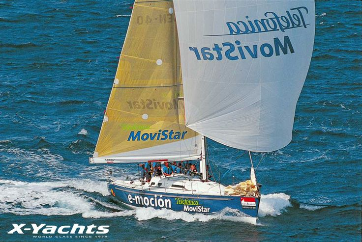 Design No.31 - IMX40 - With the X-412, X-442 and similar models selling in high numbers, the development department found time to maintain X-Yachts' reputation in the world of racing. The IMX 40 was introduced as an IMS winner, sporting a carbon mast, boom and wheel as standard, and introducing the 'magic wheel' backstay adjuster. The design won the European Championship as well as forming two-thirds of the Spanish team that won the Sardinia Cup.