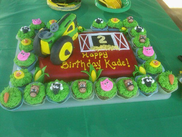 Tractor Birthday Cakes for Boys | LaDue & Crew: Cakes, and more cakes...
