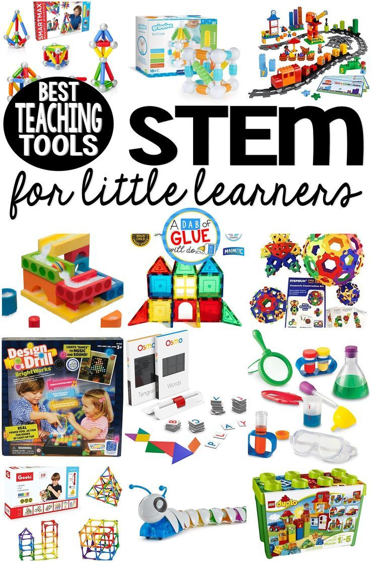 Best STEM Teaching Tools for Little Learners