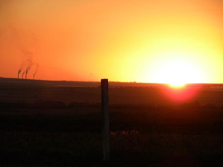 #sunset #power #industry