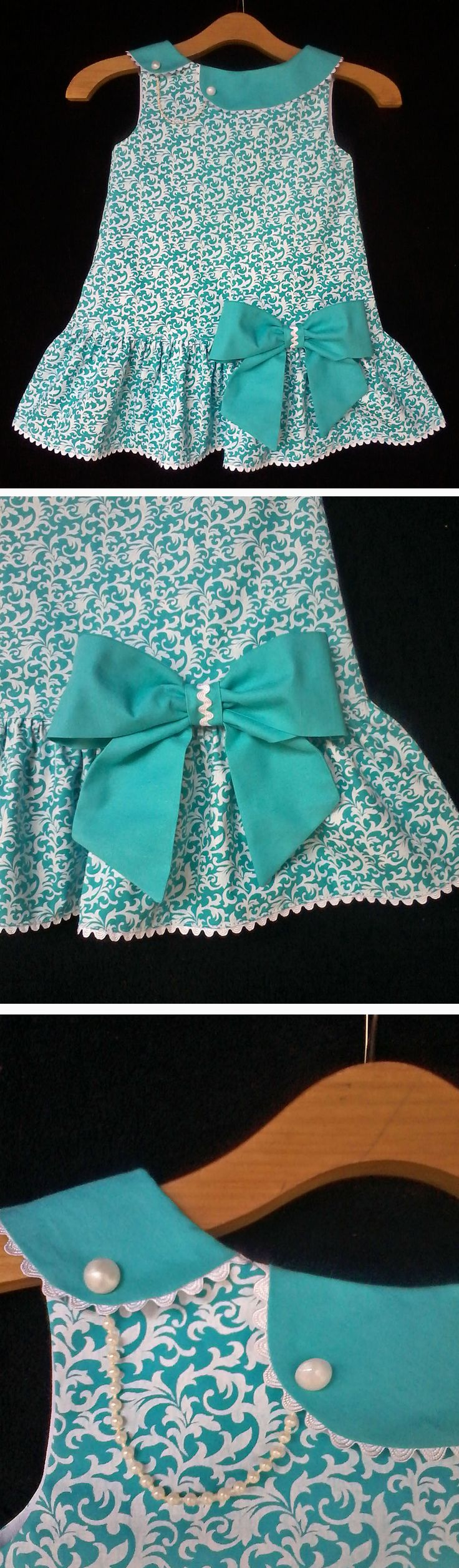 Molde Gratuito no Grupo do Facebook Dona Fada Free pattern in Facebook Group Dona Fada (https://www.facebook.com/groups/1594730384185604/)................................. (RLevyFile-Vestido Verde3anos-GreenDress3years.pdf)
