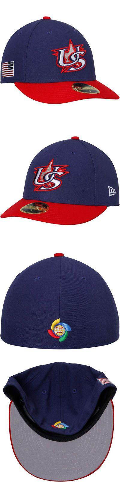 Baseball-MLB 24410: New Era Usa Baseball Fitted Hat - World Baseball Classic -> BUY IT NOW ONLY: $34.99 on eBay!
