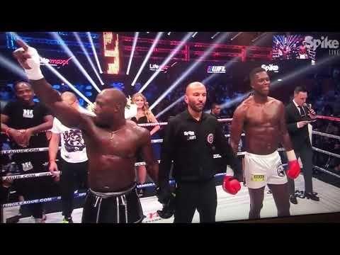 Video - Manhoef wint van Kickbokser Remy Bonjasky - FamilieNieuws.com