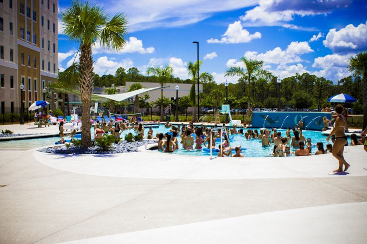 The Luxury Pool Located Within Fgcu S South Village