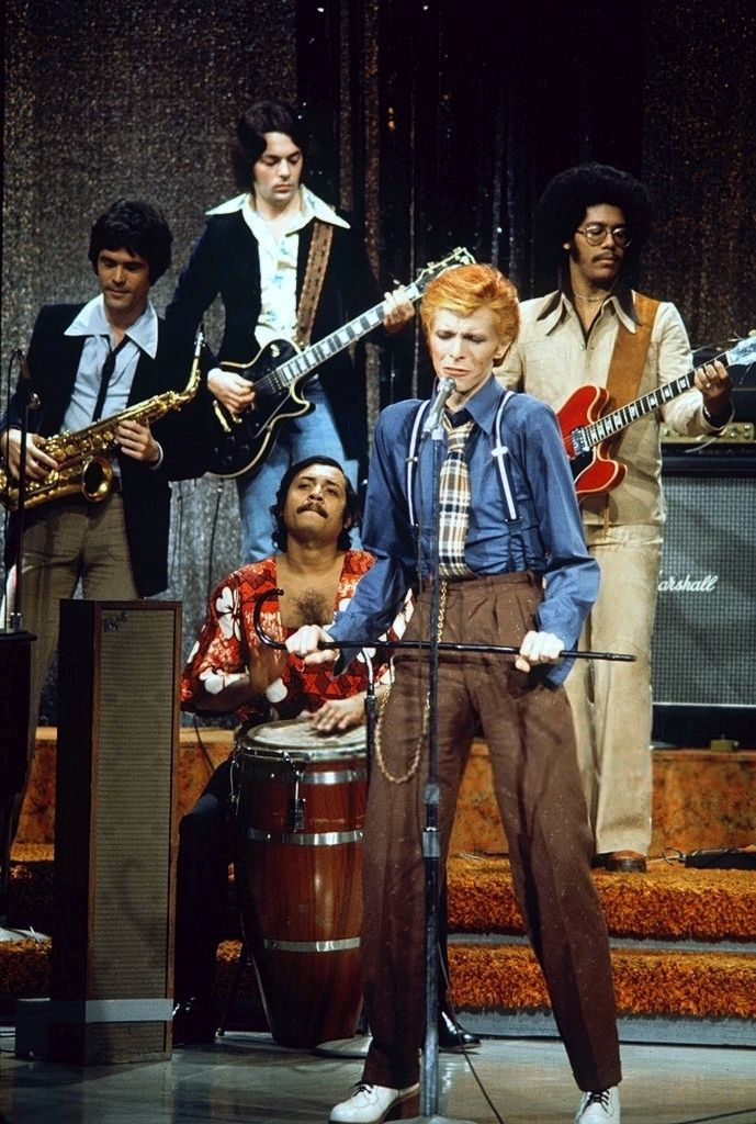 David Bowie on The Dick Cavett Show, 1975. Young Americans.