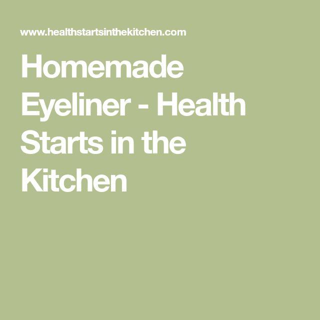 Homemade Eyeliner - Health Starts in the Kitchen