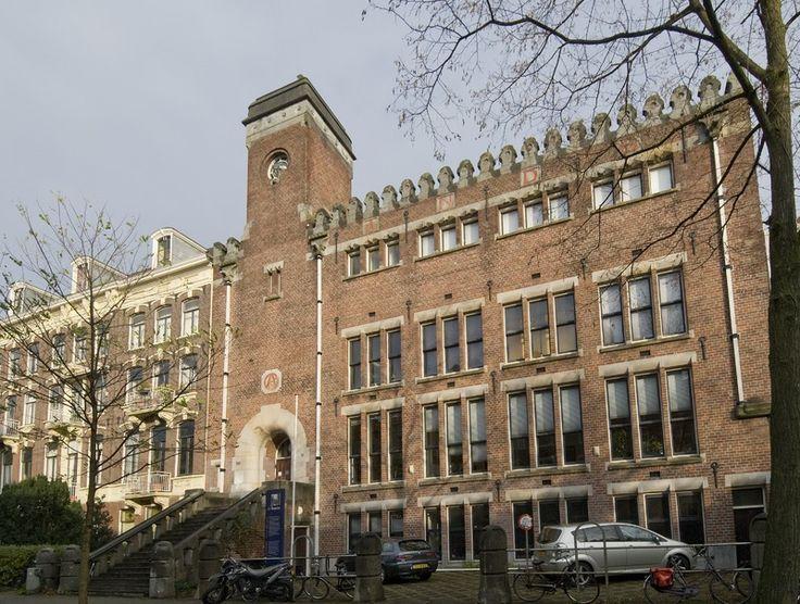 Burcht van Berlage, Amsterdam (1900, arch.: H.P. Berlage)
