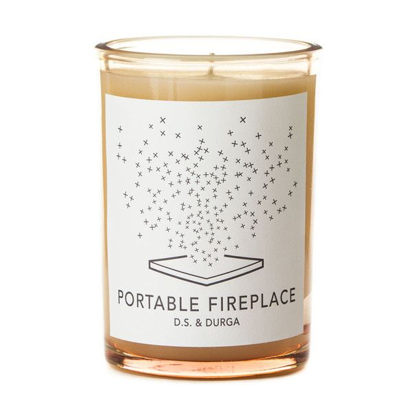 D.S. & Durga - Portable Fireplace scented candle, - 17 Best Images About Candle On Pinterest Packaging Design