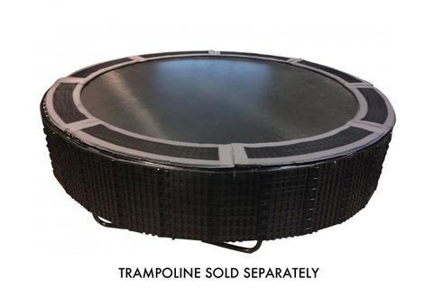 Inground Trampoline Retaining Wall & Pad Combo