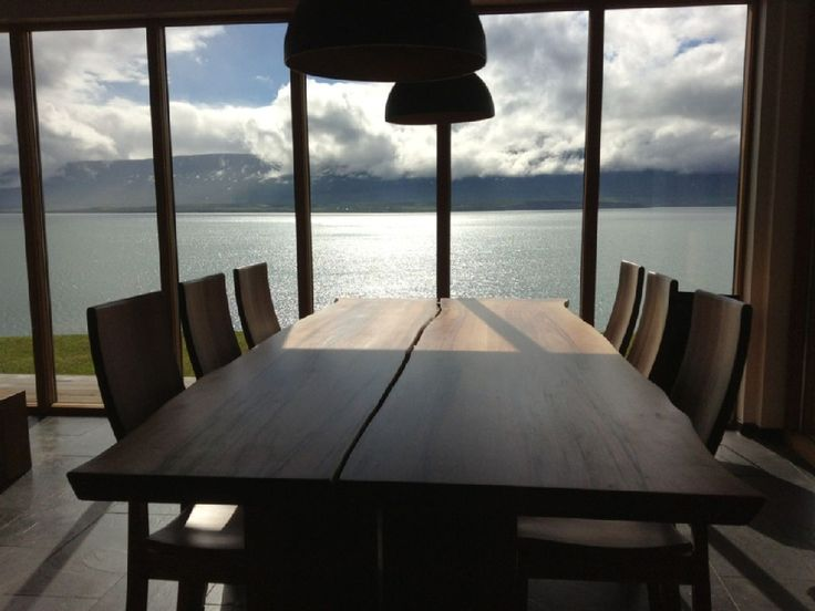 Northeast Iceland house rental - View from the dining table
