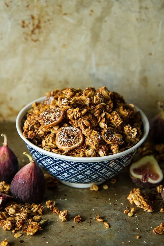 Pumpkin Fig Coconut Granola- gluten free/vegan
