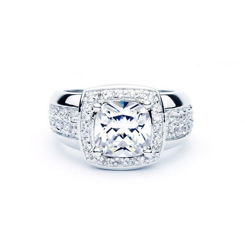 Matriarch Ring with Cubic Zirconia