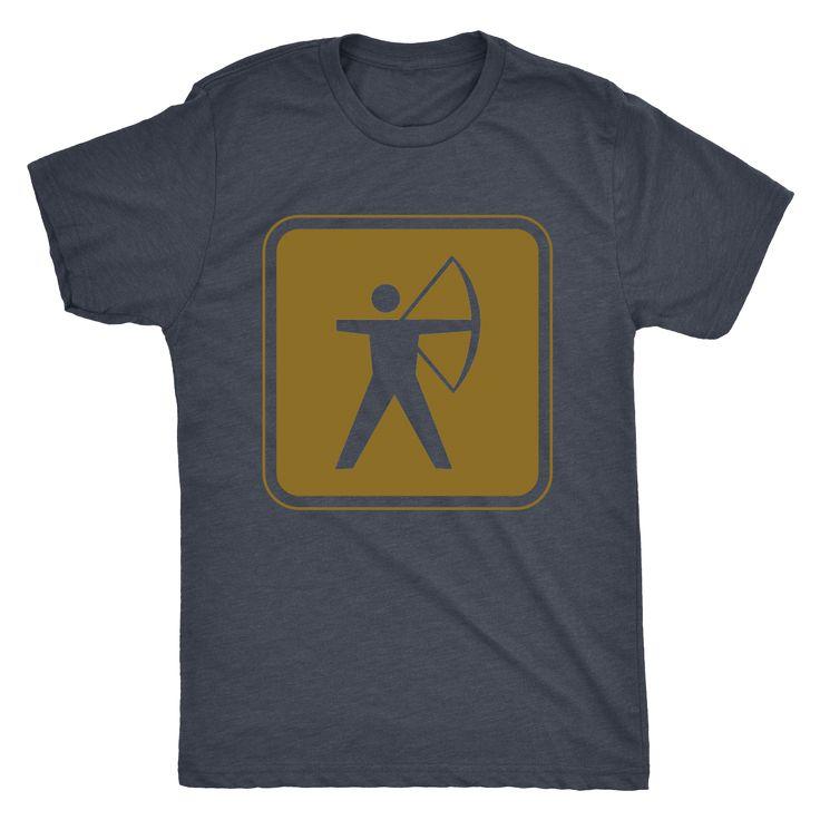 Men's Archery Sign Shirt
