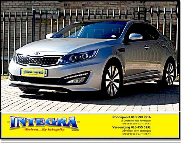 2013 Kia Optima 2.4 A/t for sale!! For More info kindly contact Integra Motors.