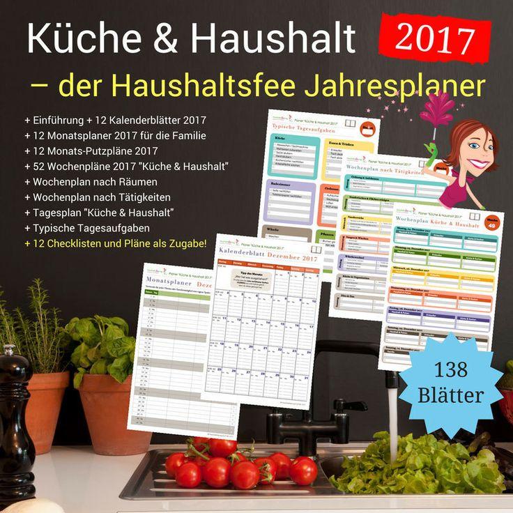 Du willst deinen Haushalt besser organisieren? Hier findest du jede Menge professionelle Pläne und Checklisten, die dich dabei unterstützen.