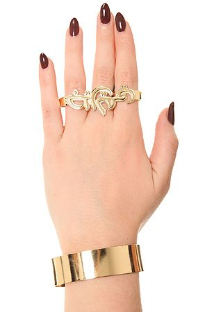 """What's Haute Magazine » What's Haute Right Now: Melody Ehsani x Jeremy Scott """"Arab Spring"""" jewelry collection"""