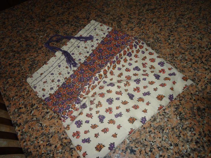 saco em tecido (patchwork bag)
