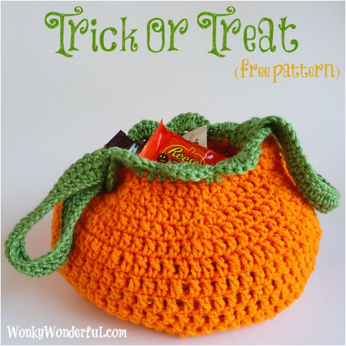 Free Easy Halloween Crochet Patterns : Best 25+ Trick or treat ideas on Pinterest