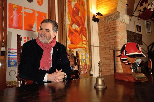 """""""Le Contrade di Siena raccontate dai Priori"""": Contrada della Civetta. Vai alla pagina http://www.sienafree.it/palio-e-contrade/civetta/45939-le-contrade-di-siena-raccontate-dai-priori-civetta-fotogallery"""