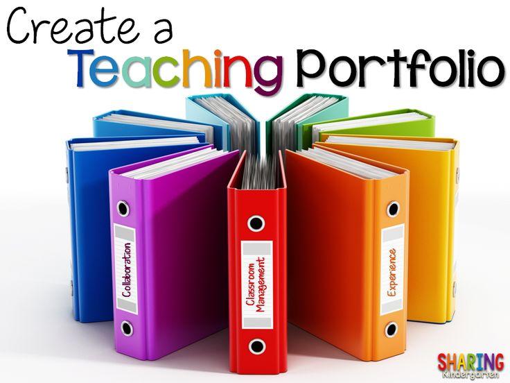 Create a Teaching Portfolio