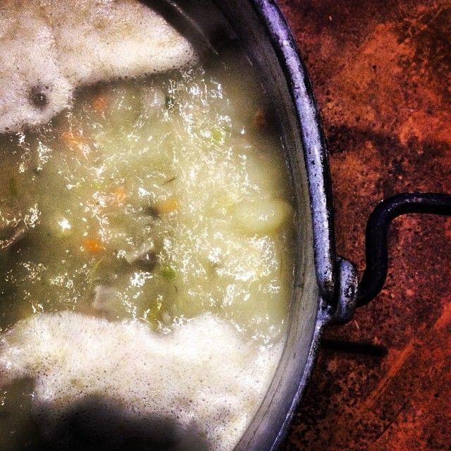 L'Escudella  de carnestoltes   Carnival boiled  in #Tremp #Pallars #Pirineu #Catalunya #Carnestoltes #carnaval