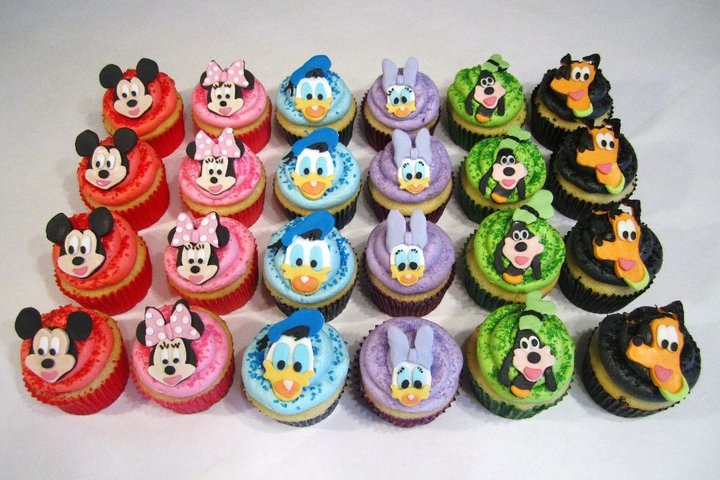 Disney Cupcakes Bubble And Shake Cupcakes Pinterest