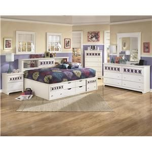 Shop For The Signature Design By Ashley Zayley Full Bedroom Group At  Pilgrim Furniture City   Your Hartford, Bridgeport, Connecticut Furniture U0026  Mattress ...