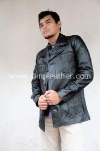Jaket Kulit Pria Tipe Z105 - Simple Leather – Jaket Kulit Premium Indonesia, Pusat jaket kulit asli terbaik di Indonesia dengan kualitas premium. Tersedia jaket kulit dari bahan kulit domba premium, kulit domba lokal, dan kulit sapi, berlokasi di kota bandung. http://www.simpleather.com #jaketkulit #jaket #fashion #kulit #leather #leatherjacket