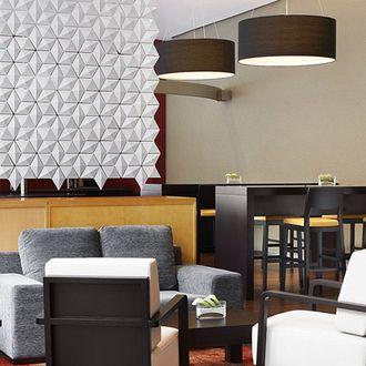 Four Points Sheraton Hotel - Barcelona. Designer: Josep Palaín  Facet partition. #partitions #hospitality #interiors